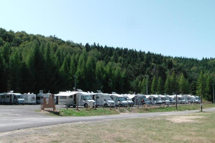 Aire de service camping-cars
